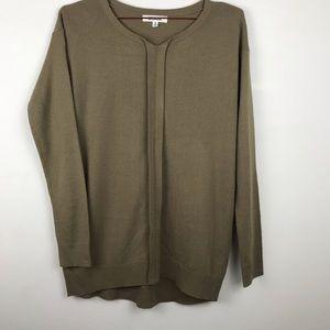 BB Dakota Tan Pullover Sweater Small